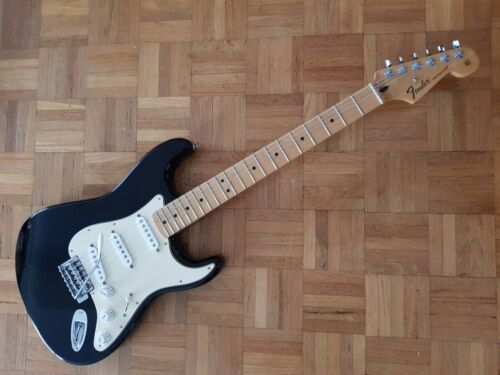 '14 FENDER MEXICAN STRATOCASTER STANDARD 'UPGRADE' CLASSIC BLACK NOW UNAVAILABLE