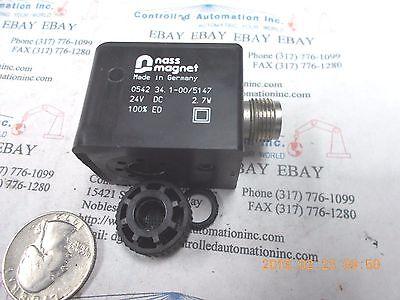 Nass Magnet 0542 34 Solenoid Coil 24v Valve