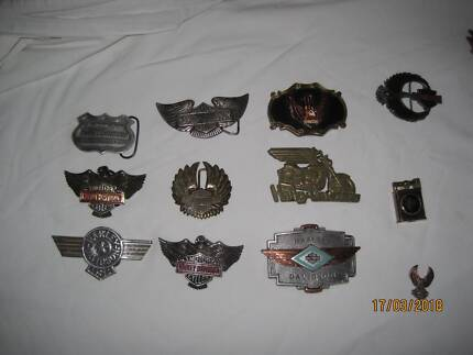 Harley Davidson paraphernalia -Varied collection