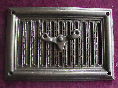 Antique cast iron hit and miss air vent