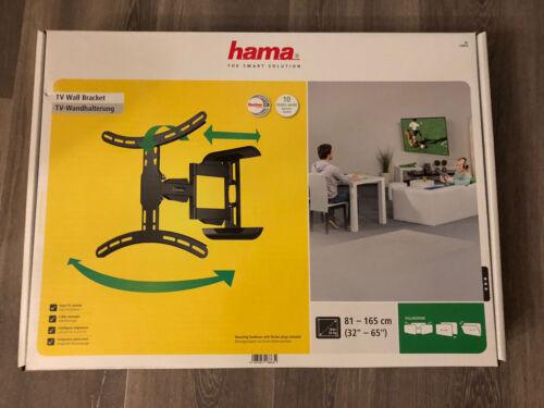 """*Neu* TV-Wandhalterung von hama für 32"""" - 65"""" flexibel Easy-Fix System"""