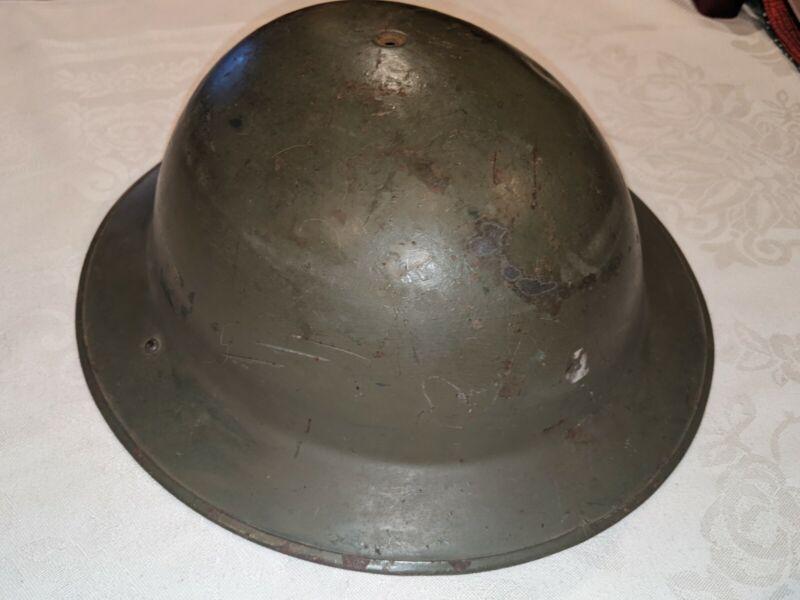 Brodie WW2 British Tommy Helmet Mk2 Mk ii United Kingdom Belgian m1917