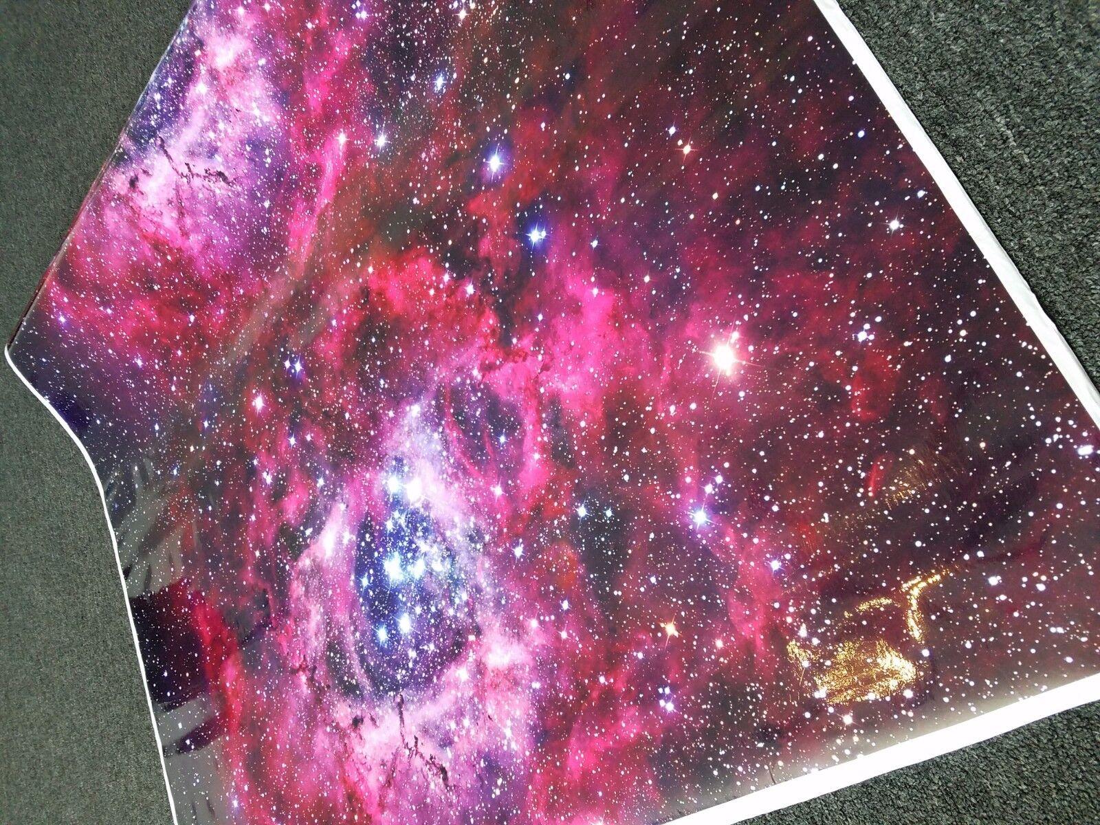 Galaxy 02 Gloss Vinyl Car Wrap Nebula Film Decal Sheet Roll Adhesive