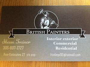 Painting services commercial and residential
