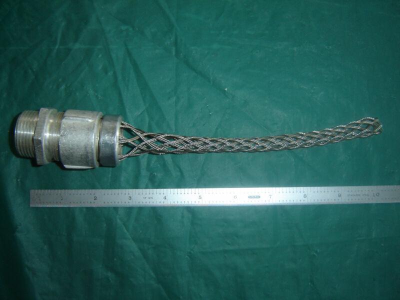 Remke LMM-31-E, Liqua-seal Strain Relief Cord Grip with mesh NOS, crossed ref.