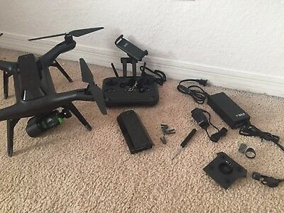 3DR Solo Quadcopter Drone with Gimbal and extra Battery
