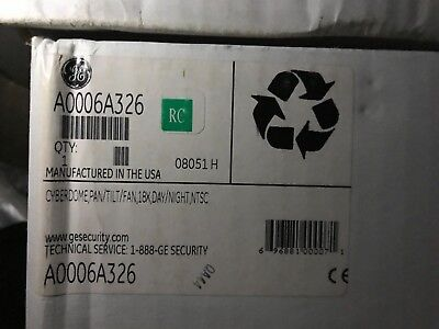Brand New Sealed Box Ge Security A0006a326 Cyberdome 18x Dn Ptz Camera 2485