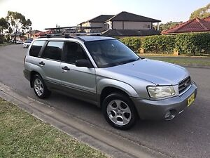 Subaru Forester XS AWD 2003 Wagon Manual Kellyville The Hills District Preview