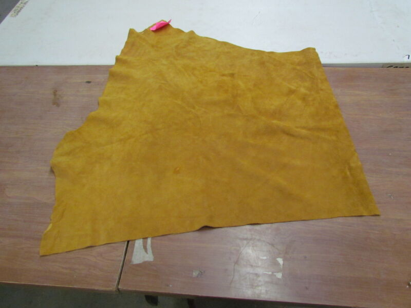 "37"" X 30"" NATIVE AMERICAN DARK COMMERCIAL TANNED MOOSE HIDE, SOFT"