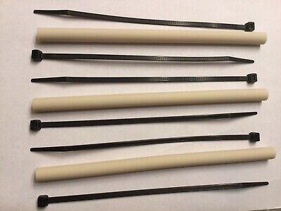 Set Of 3 Ecolab Jackson Dishwasher Dishmachine Chemical Squeeze Pump Tubes Fs