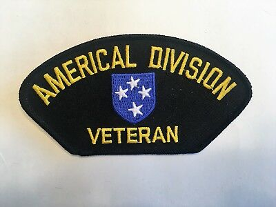 Патчи Americal Division Veteran Hat Patch