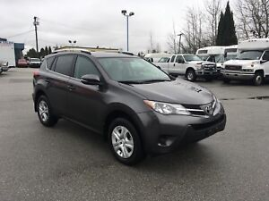 2013 Toyota RAV4 LE with backup camera and only 19000 KM