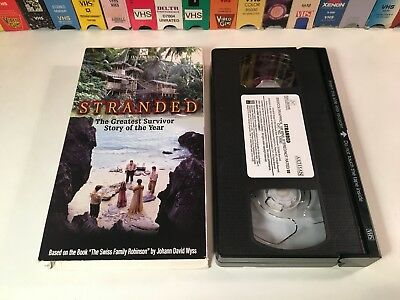 Stranded TV Movie Family Survival Adventure VHS 2002 Liam Cunningham Hallmark
