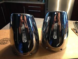 Victory cross country exhaust tips