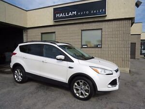 2013 Ford Escape SEL Panoramic Roof, Blk Leather Int, Navigat...