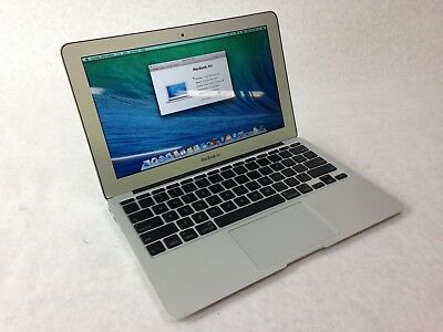"Apple MacBook Air 2010 11.6"" w/ Core 2 Duo 1.4Ghz, 4GB RAM, 60GB SSD, OS X 10.9"
