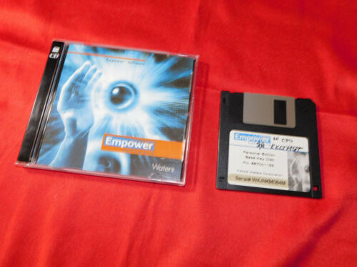 Waters Empower Personal Edition Sftw,1 floppy (667001155), 2 CDs (667001157)