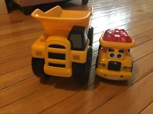 CAT brand toy trucks