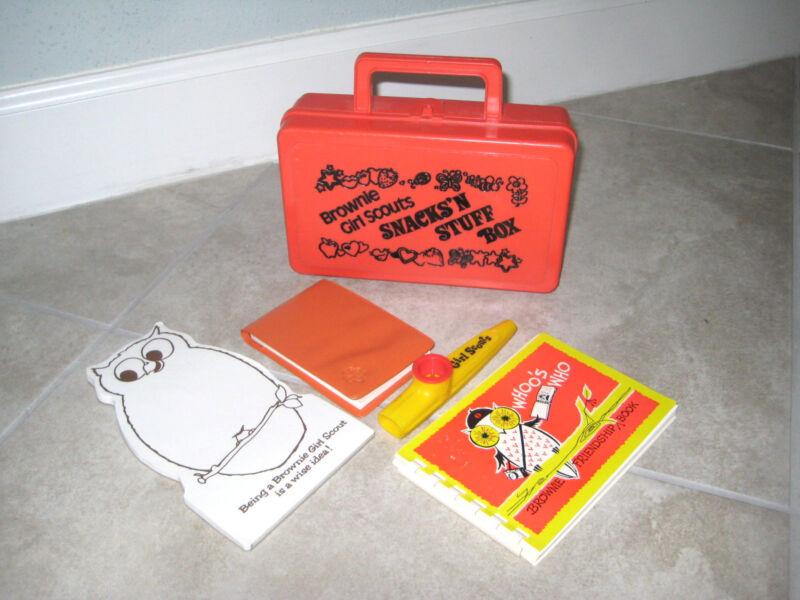 Vintage Orange Brownies Girl Scout Scouts Snacks