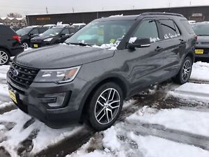 2016 Ford Explorer Sport, Navigation, Leather, Panoramic Sunroof