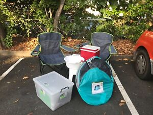 Camping Equipment Chairs Table Tent Storage Box