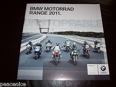 BMW 2011 BIKE Motorcycle Range CATALOGUE BROCHURE ORIGINAL mint condition