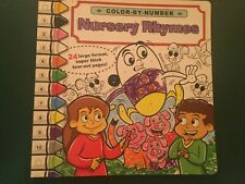 New Color by Number (Nursery Rhymes) with Tearaway Pages ...