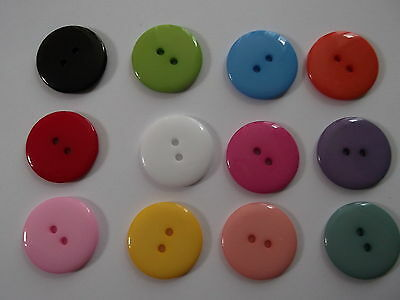 25 to 200 Large Round 23mm Clothes Sewing Crafts Buttons - Buy2Get 3rd 50% OFF