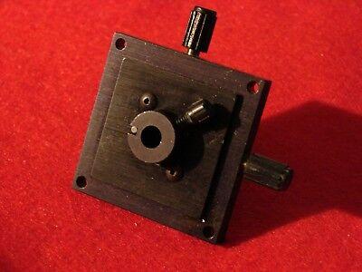 Newport Fp-1 Fiber Optic Positioner Xyz Bare Fiber