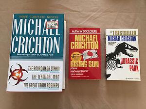 Michael Crichton Novels / Books - Jurassic Park