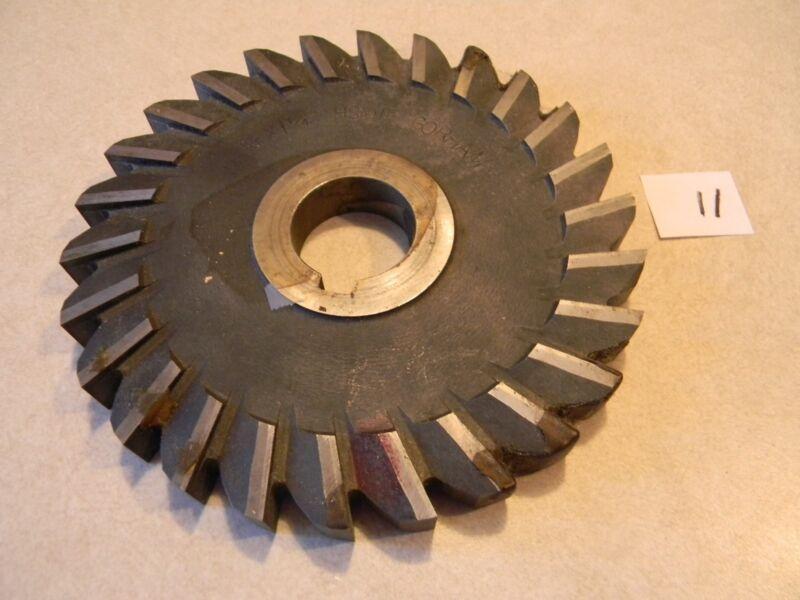 """Side milling cutter, 6"""" OD x 5/8"""" wide, unused"""