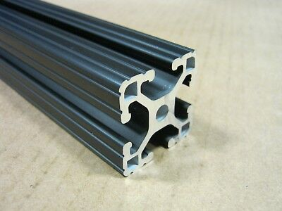 8020 Inc 1.5 X 1.5 Tslot Aluminum Extrusion 15 Series 1515-lite X 24 Black H1-2