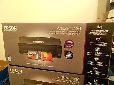 New Epson Artisan 1430 Large Format Wireless CD/DVD Inkjet Printer