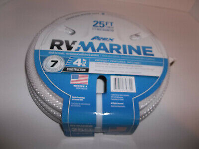 - Apex Marine/RV Camping Water Hose 25 Ft. New