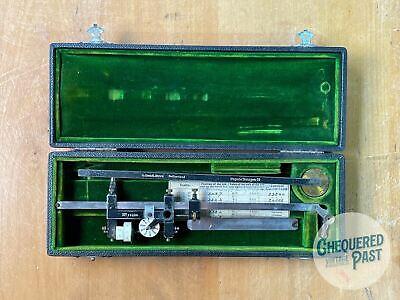 Antique 1913 G.CORADI Zurich Switzerland DIETZGEN Polar Compensating Planimeter