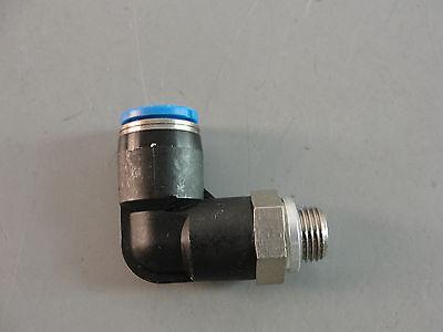 Festo Hydraulic Pneumatic Automation Push In L Fitting 8mm Tube 38 Thread