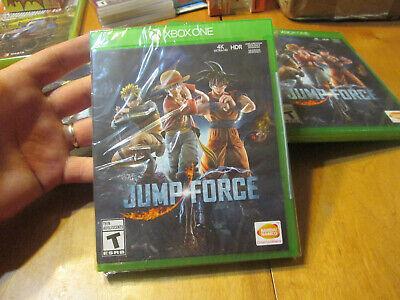 Jump Force XBOX ONE BRAND NEW FACTORY SEALED GOKU NARUTO ONE PIECE +++ MANGAS comprar usado  Enviando para Brazil