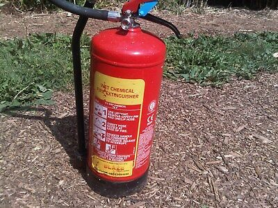 Wet Chemical Fire Extinguisher various sizes secondhand