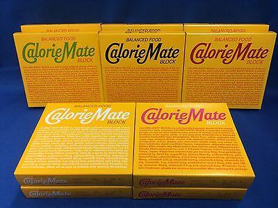 Calorie Mate block 5 flavor each 2 10 BOX [fruit,chocolate,cheese,maple,plain]