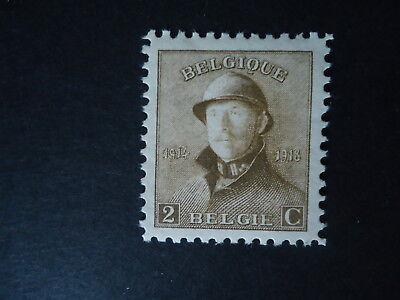 Belgique Belgîe Belgium year1919 -  cob:166 MH*