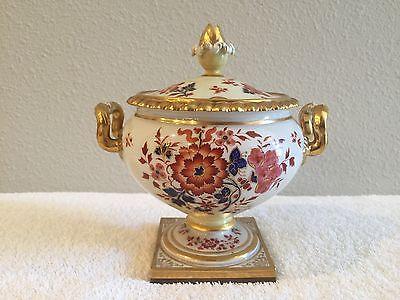ANTIQUE Flight Barr & Barr Floral Sauce Tureen Porcelain circa 1805 and RARE