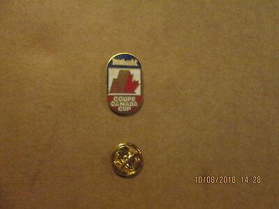 Labatt Coupe Canada Cup Vintage Circa 1990's Logo Hockey Lapel Pin