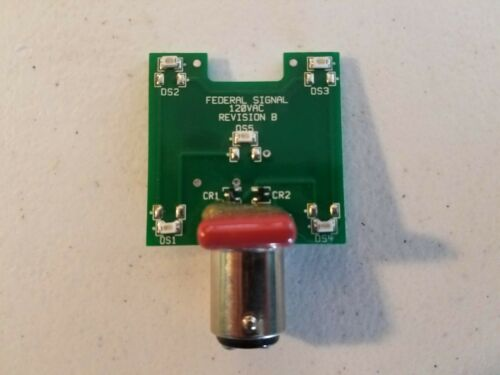 Federal Signal K8107200A 120 VAC Green LED Stacklight Bulb