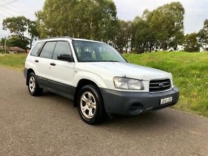 2003 Subaru Forester X (AWD) White 4Speed Automatic Wagon 5months Rego