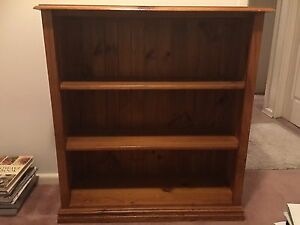 Brown wooden bookshelf St Marys Penrith Area Preview