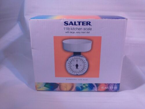 """""""Salter"""" 5kg/11lb Kitchen Weighing Scale Model 125 LARGE, EASY READ DIAL"""