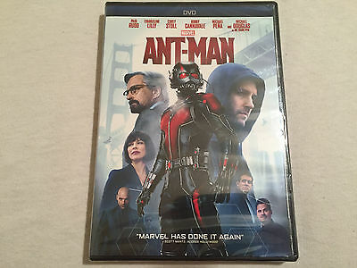 Ant-Man (DVD, 2015) BRAND NEW - FREE SHIPPING TO THE US!!!