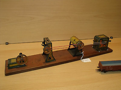 525) Hess Dynamobil - 4-teilig - L. 46 cm - selten - ansehen