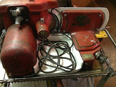 Antique 1931 American Chief Slicing Machine Meat Slicer Vintage