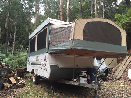 Jayco Eagle camper van